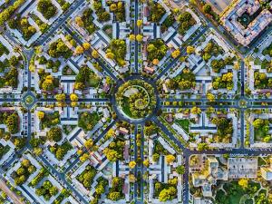 Bird-eye view: fotógrafo faz cliques de NY e LA lá de cima. Voa!