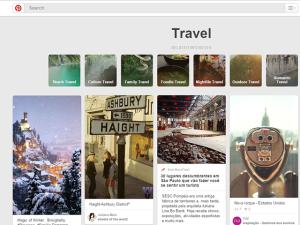 Vai pra onde? Boards do Pinterest dão uma força para os viajantes
