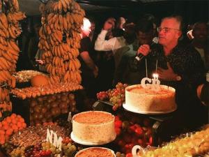 Parou o Rio! Por dentro do festão de 50 anos de Giovanni Bianco