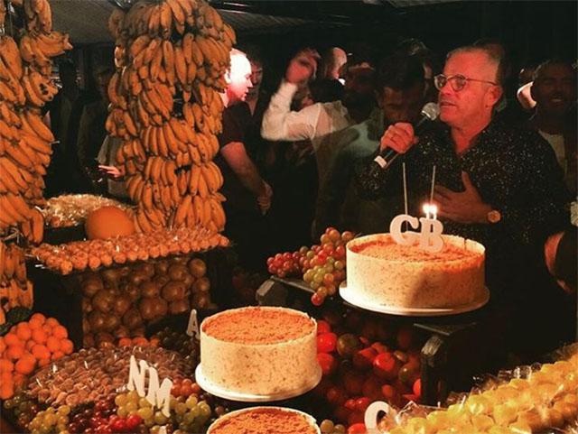 Giovanni Bianco e seu discurso emocionante na hora do parabéns || Créditos: Glamurama
