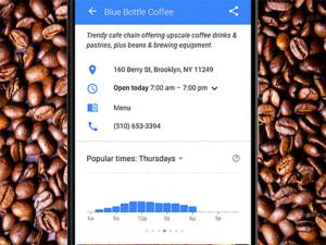 Nova função do Google diz o melhor horário para ir a um restaurante