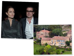 Angelina e Brad são vistos como esnobes por vizinhos na França