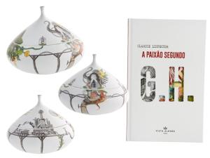 Obra de Clarice Lispector dá vida a porcelanas pelas mãos de sua neta