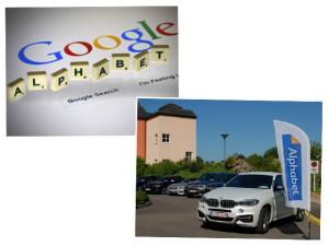BMW e o Google podem brigar por conta da holding Alphabet