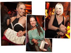 Isabela Capeto e mais glamurettes com bolsas Macadamia na nossa festa
