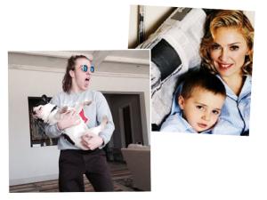 Biruta feito a mamãe, Rocco Ritchie chega aos 15 cheio de poses