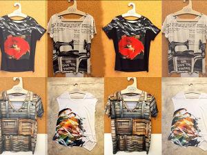 Cliques de Angelo Pastorello estampam coleção de t-shirts