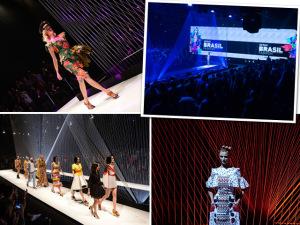 Três mentores, 9 estilistas, 27 looks: o que rolou no desfile do SENAI Brasil Fashion