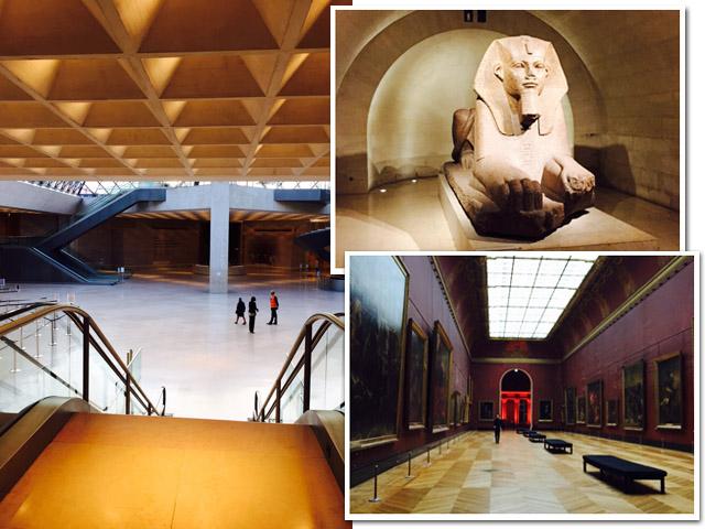 Cliques da visita noturna guiada ao Louvre || Créditos: Glamurama
