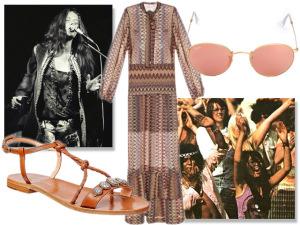 Festival de Woodstock nascia há 46 anos. Inspire-se no estilo da época