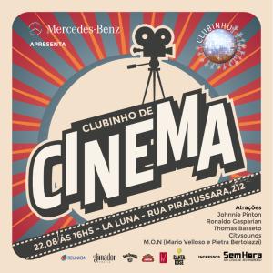 O Clubinho de Cinema rola neste sábado e Glamurama entrega os detalhes