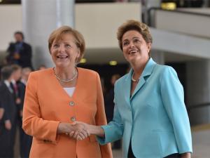 Quem vence a batalha de estilo entre Angela Merkel e Dilma Rousseff?