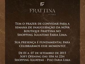 Frattina inaugura novo espaço no Shopping Iguatemi