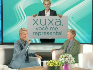 Xuxa X Ellen DeGeneres: estilo, vaidade e certa língua solta