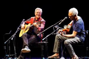 Caetano e Gil serão homenageados no palco do Prêmio Multishow 2015