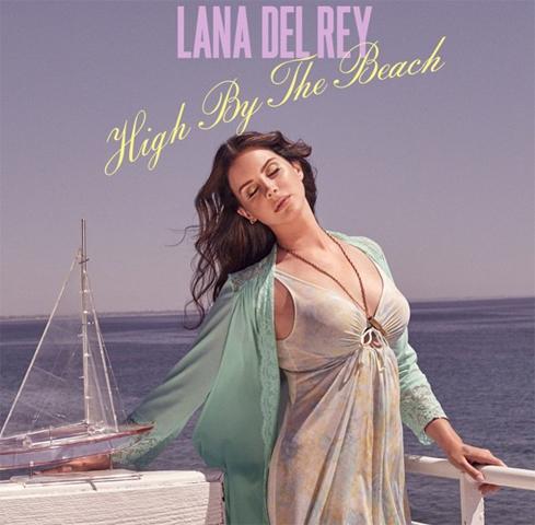 "Capa do single ""High By The Beach"" de Lana Del Rey  ||  Créditos: Reprodução Facebook"