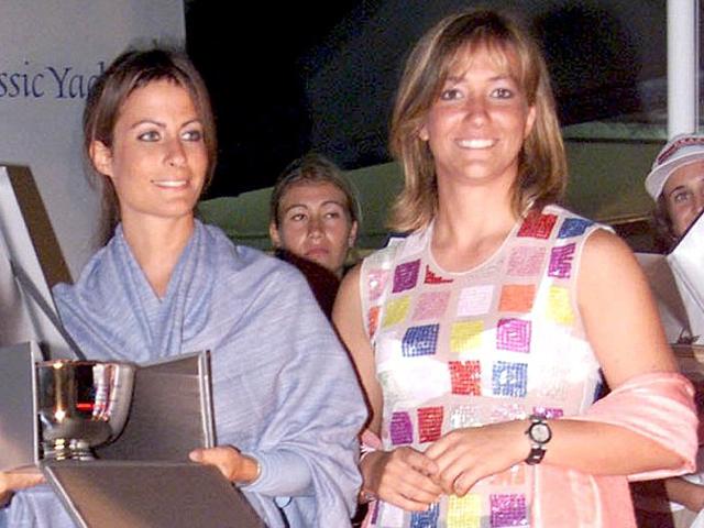 Alessandra e Allegra Gucci  ||  Créditos: Infphoto
