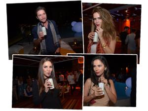 Novos sabores de Liv refrescam convidados da festa de 15 anos do Glamurama