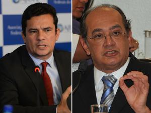 Ministro Gilmar Mendes ironiza a Moro-depêndencia