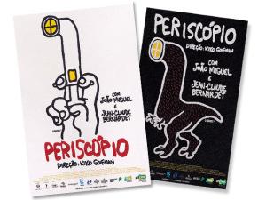 """Laerte Coutinho é a responsável pelos cartazes do filme """"Periscópio"""""""