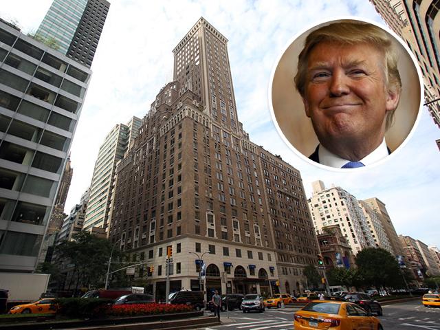 O Trump Park Avenue    Créditos: Divulgação / Getty Images