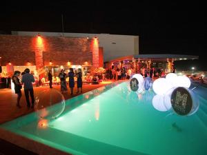 A decoração da festa do Glamurama no Rio foi da Magic Village
