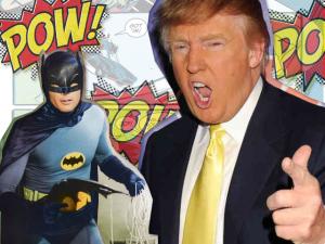 Será Donald Trump o Batman? Aqui, o que eles têm em comum