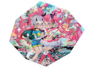 Artista Japonês retrata inocência da infância com medos adultos