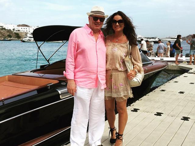 Luiza e Lírio: apaixonados e felizes durante férias na Europa  ||  Créditos: Reprodução Instagram