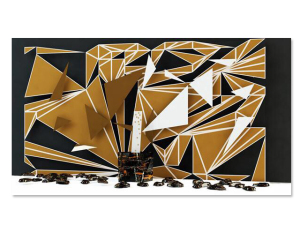 Camila Klein assina obra para Cartel 011 durante a Design Weekend
