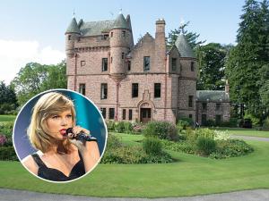 Taylor Swift de olho em castelo na Escócia de R$ 25 milhões