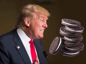 Donald Trump vai parar de comer biscoito. O motivo da dieta?