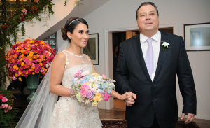 Os detalhes do casamento de Cynthia Landsberger e Luis Guilherme Pinheiro