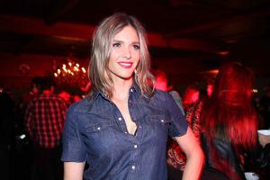 Lançamento da Levi's no Terraço Itália com Fernanda Lima
