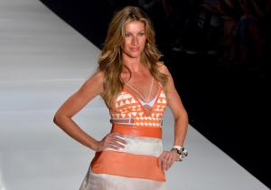 Gisele Bündchen continua sendo a modelo mais bem paga do mundo