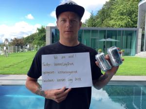Kimi Raikkonen pega gancho em apelido e lança marca de gin