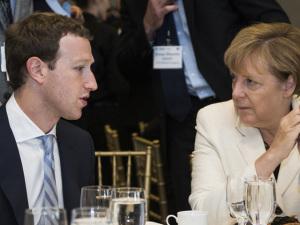 Mark Zuckerberg na mira dos sermões de Angela Merkel. O motivo?