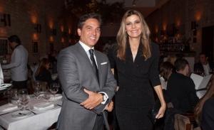 Maxime Ferté e Fabiana Scaranzi se reúnem em jantar da Maison suíça Baume & Mercier