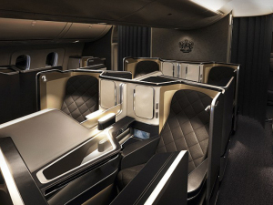British Airways apresenta nova primeira classe com apenas 8 lugares