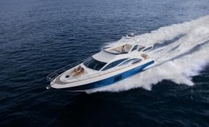 Azimut Yachts apresenta megaiate com decoração by Missoni Home