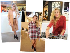O estilo da DJ Miss Cady durante o Barra Fashion Glamurama