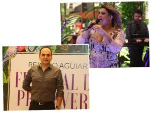 Renato Aguiar comemora 20 anos de carreira com pocket show de Preta Gil