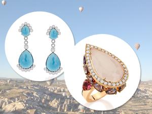 Emar Batalha e Luiza Setúbal lançam coleção de joias inspirada na Capadócia