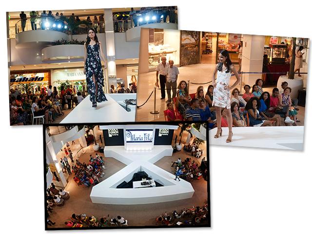 O desfile da Maria Filó no Barra Fashion Glamurama