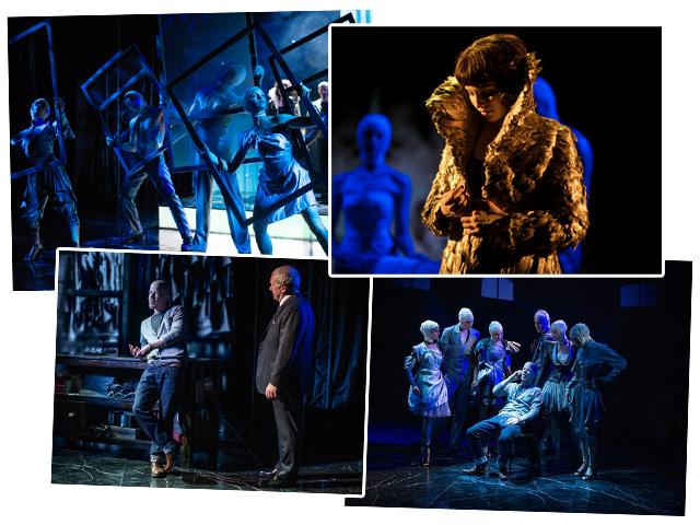 """Cenas da estreia da peça """"McQueen"""", em Londres    Créditos: Reprodução Facebook"""