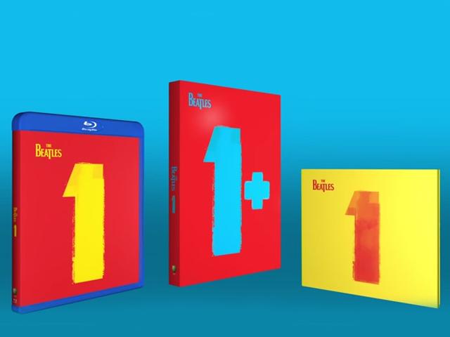 As três capas dos novos lançamentos dos Beatles
