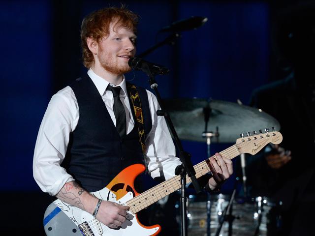 Ed Sheeran: menino de ouro || Créditos: Getty Images