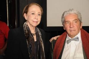Nathália Timberg prestigia o lançamento de filme de Fernanda Montenegro