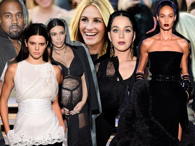 O disputado desfile da Givenchy em Nova York