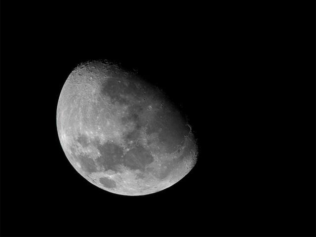 Lua crescente no astral da semana  ||  Créditos: iStock